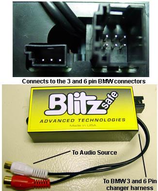 Blitzsafe Bmw Aux Dmx V 1 Enfigcarstereo Com
