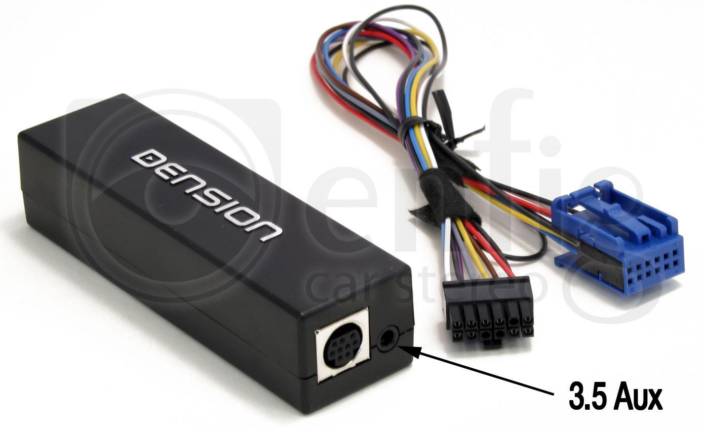 Dension GW15AI2 Gateway 100 Audi12 Pin