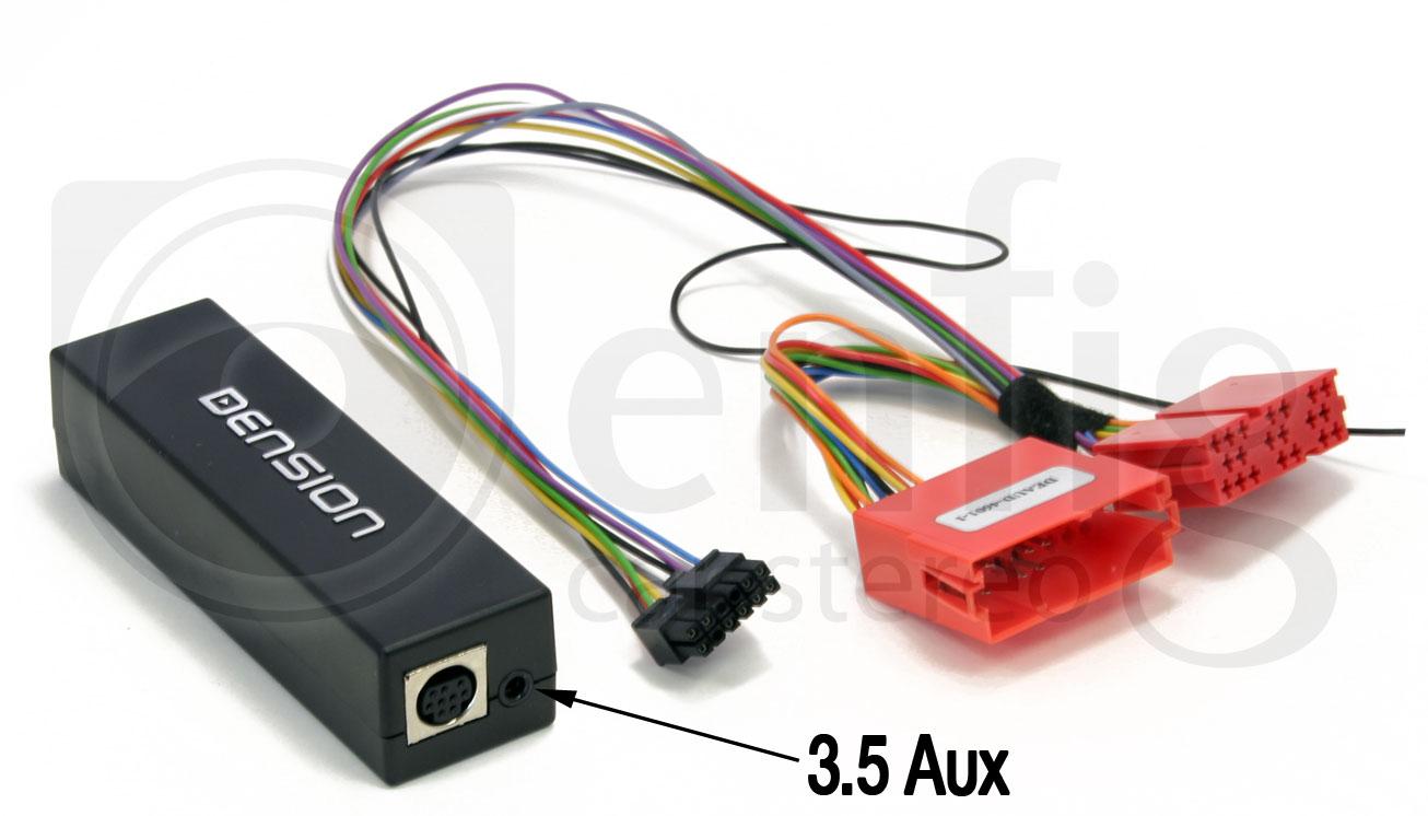 Dension GW15AU2 Gateway 100 Audi 20 Pin