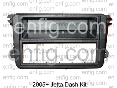 MK5 Golf/ 2005+ Jetta Radio Dash Kit