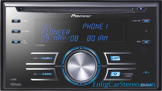 Pioneer FH-P8000BT