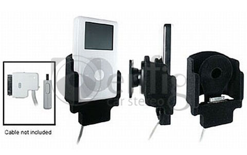 ProClip 840653 iPod Holder With tilt swivel for the belkin auto kit cable