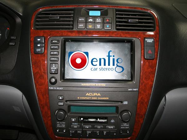 2003 Acura Mdx With Navigation Blitzsafe Ipod Interface Hon  M