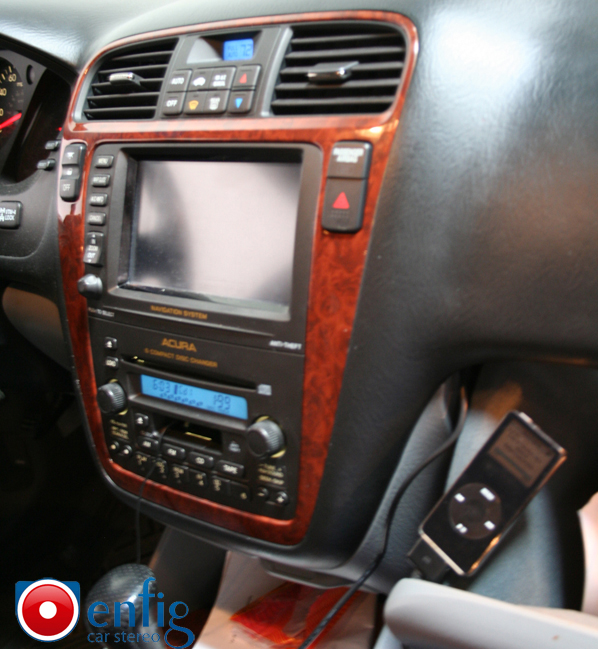 Acura MDX With Navigation BlitzSafe IPod Interface HONMLink - 2004 acura tl aux input
