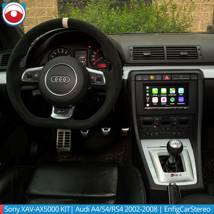 SONY XAV-AV5000 for Audi radio installation kit