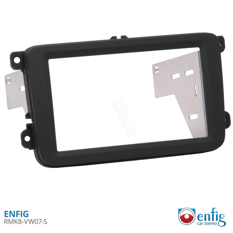 Enfig Shallow Radio Mounting Kits for 2006-2015 Volkswagens RMK-VW07-S