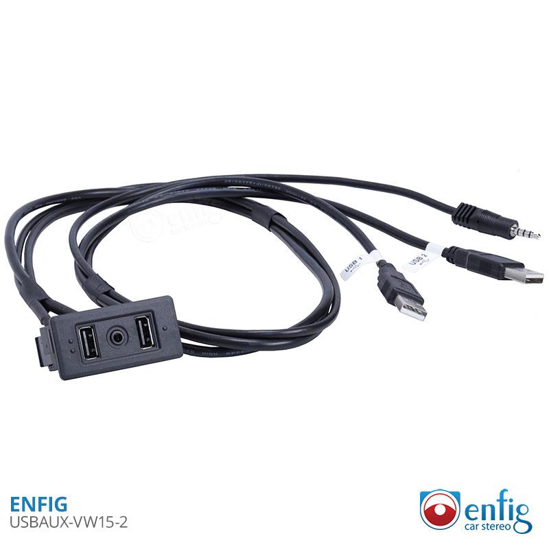Enfig USBAUX-VW15-2